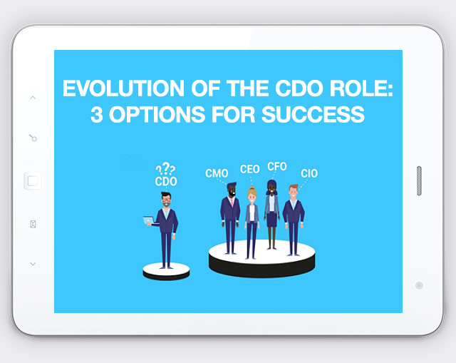 Evolution of the CDO role: 3 options for success