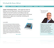 Michael de Kare-Silver's Website